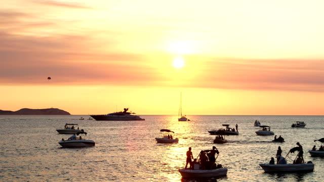 sundown ibiza - ibiza filmów i materiałów b-roll