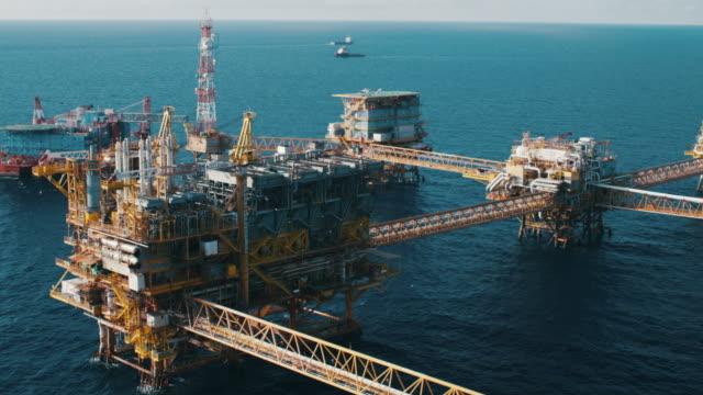 OIL PLATFORM video