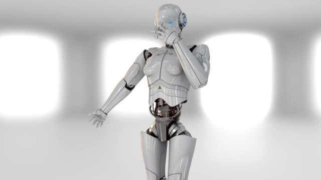ロボット - ロボット点の映像素材/bロール