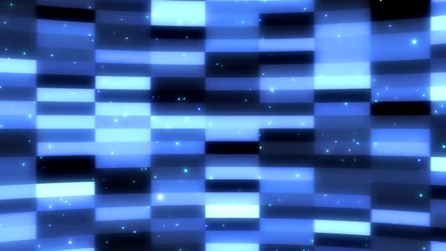 ブロック背景とパーティクル video