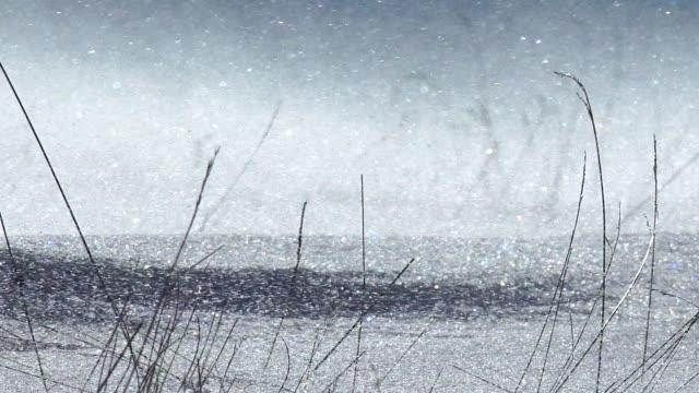 DRIFTING SNOW video