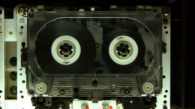cassetta play (hd - cassetta video stock e b–roll