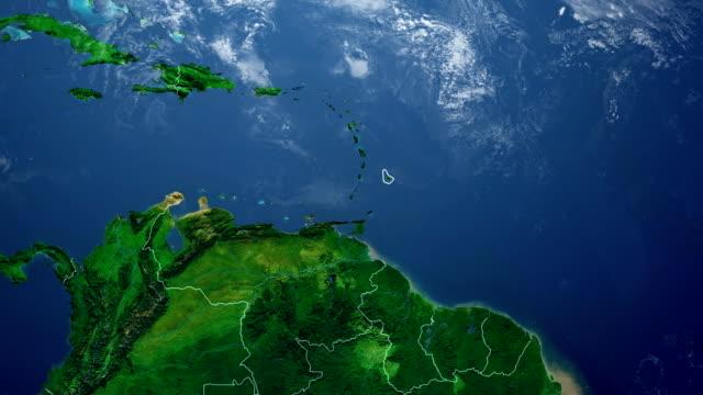 BARBADOS MAP video