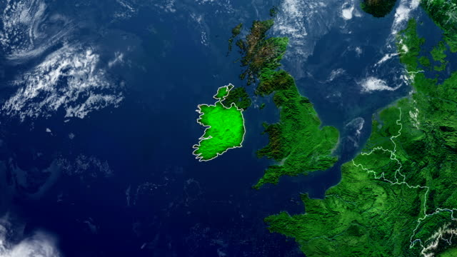MAPA DA IRLANDA - vídeo