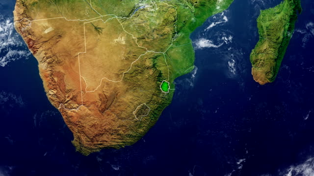SWAZILAND MAP video
