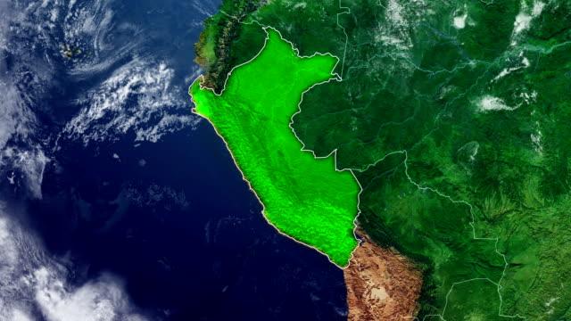 MAPA DE PERÚ - vídeo