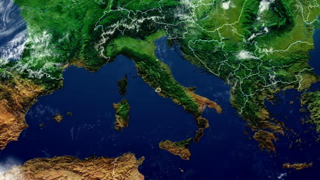 vídeos de stock, filmes e b-roll de mapa do vaticano - país área geográfica