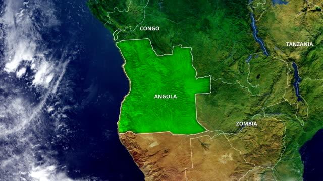 ANGOLA MAP video