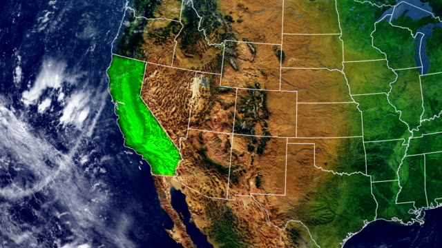CALIFORNIA MAP CALIFORNIA DIGITAL MAP california stock videos & royalty-free footage