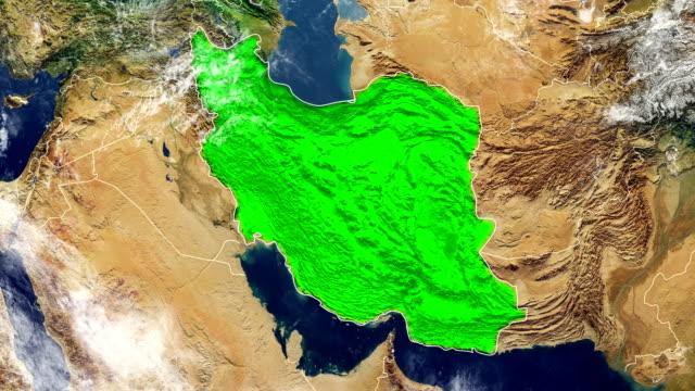 伊朗地圖 - 伊朗 個影片檔及 b 捲影像