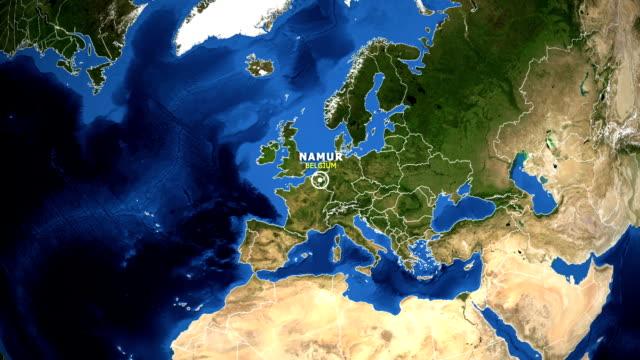 jorden zooma i kartan - belize belize city - ekvatorn latitud bildbanksvideor och videomaterial från bakom kulisserna