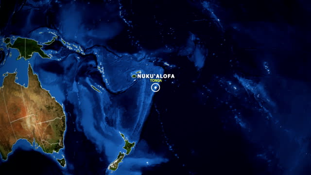 Best Tonga Stock Videos and Royalty-Free Footage - iStock on zoom in on world map, 360 street view zoom map, zoomed out map,