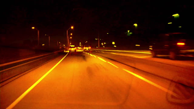 HD 1080i Driving at Night 3 video