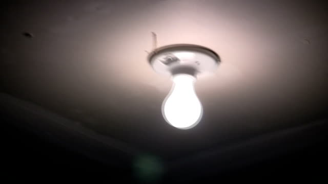 HD 1080i Flickering light buld in an earthquake. Rustic exposed basement light flickering on and off in an intense earthquake. Shot in HD 1080i. earthquake stock videos & royalty-free footage