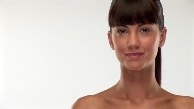 stockvideo's en b-roll-footage met hdv 1080i60: fresh beauty - zwart haar