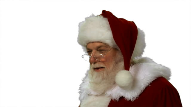 HD 1080p - Santa shaking his finger video