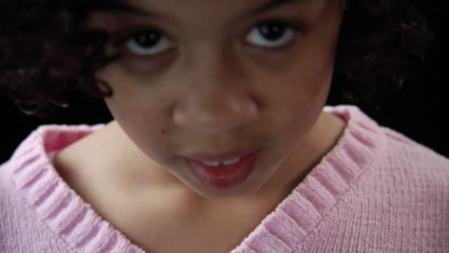 HD 1080p - Shy little girl video