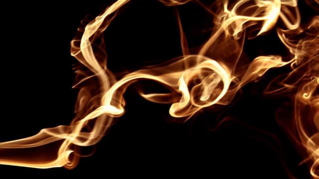 HD 1080p Smoke/Liquid Fire (Billowing) Stream video