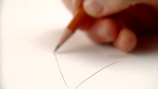 HD 1080p - Time-lapse trigonometry problem video