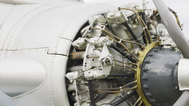 18-cylinder air-cooled radial aircraft engine