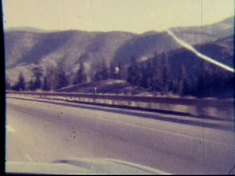 1970s North America: Highway, Freeway, Expressway, Pike drive (8mm film) video