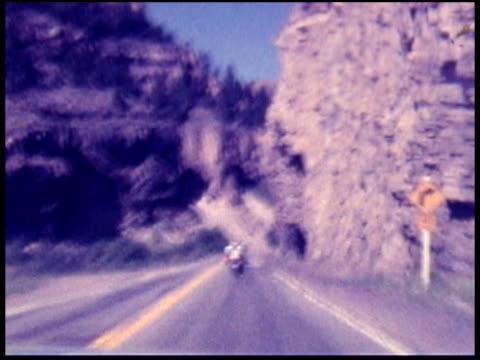 1970s North America: Motorbike / Motorcycle (8mm Film)
