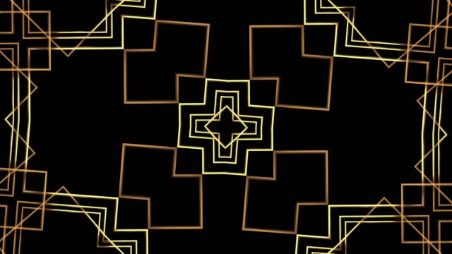20s. retro 1920 style. abstract art deco style linear geometric pattern gold tone vintage background. - art deco architecture stock videos & royalty-free footage