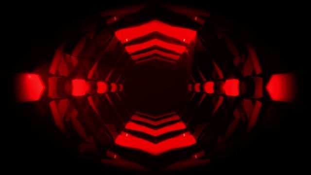 3d abstrakte tunnelanimation - wachsamkeit stock-videos und b-roll-filmmaterial