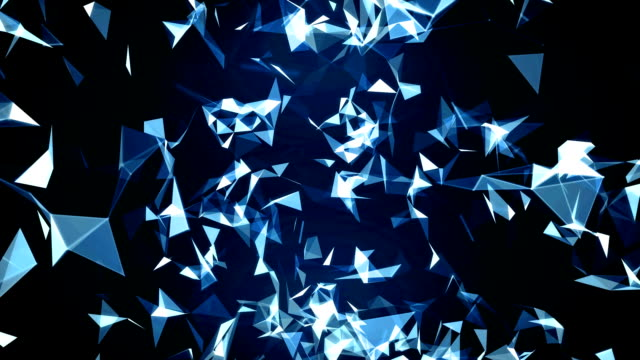 3d animation abstract FullHD background video