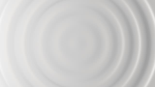 3d animation of white abstract pattern of ripples