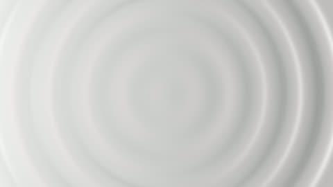 vídeos de stock e filmes b-roll de 3d animation of white abstract pattern of ripples - branco