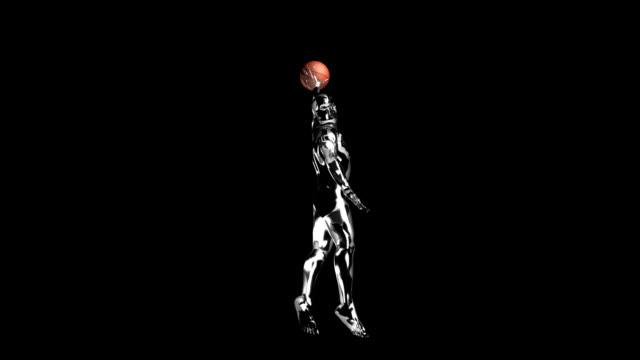 3d basket man smash