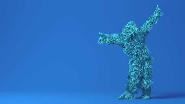 3d character funny dancing Hip Hop, opening show on colorful changing variety.  isolated background. 3d render 3d character funny dancing Hip Hop, opening show on colorful changing variety.  isolated background. 3d render fur stock videos & royalty-free footage