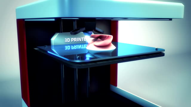 3d printer printing ear transplant video
