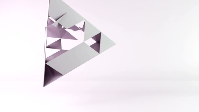 3d pyramid transformation video