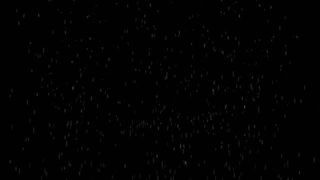 3d rendered animation of raining. background or overlay - grandine video stock e b–roll