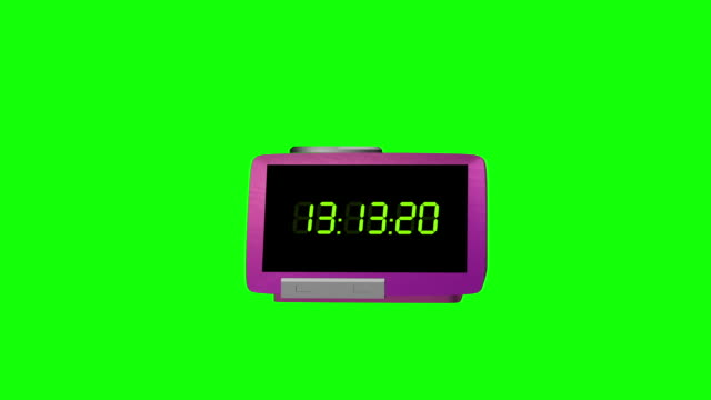 3d rendering clock time concept time lapse hours stock video, Clock, Animation - Moving Image, Wall - Building Feature, Single Object