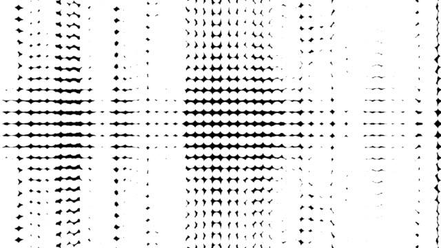 rendering 3d del ciclo di transizione della sfera per l'uso di grafica in movimento - illusione video stock e b–roll
