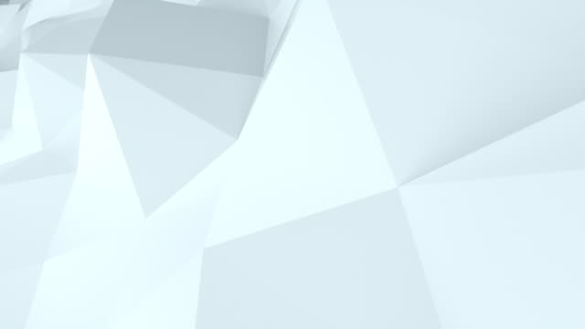 3d rendering polygonal abstract background. Computer generation low poly waving surface. Geometric triangles