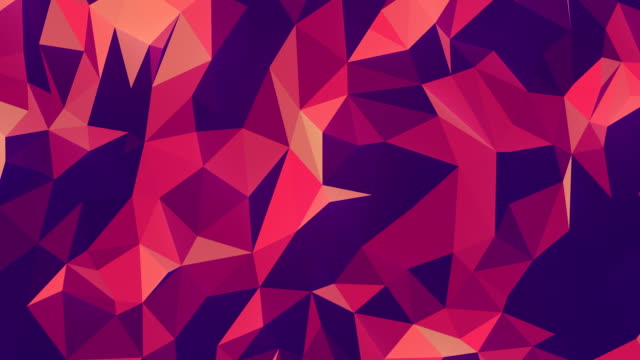 3d rendering triangular motion pattern for decoration design. Abstract geometric texture. Mosaic geometric background. Polygon design digital seamless loop animation. 4K, Ultra HD resolution