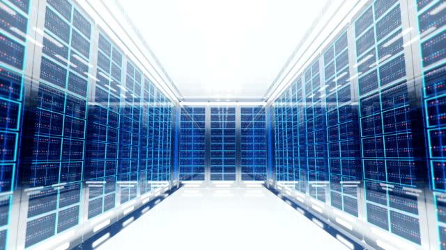 3d server room interior 3d illustration of server room server room stock videos & royalty-free footage