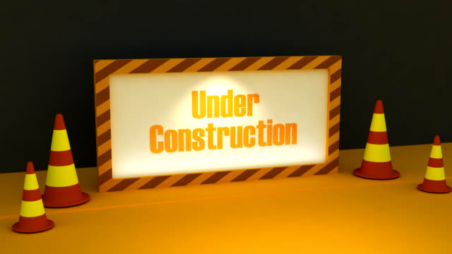3d under construction video