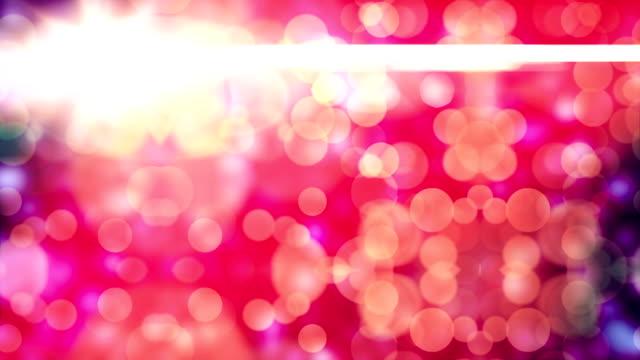 4 k abstrato, partículas de Corlorful, loop Backgrounds - vídeo