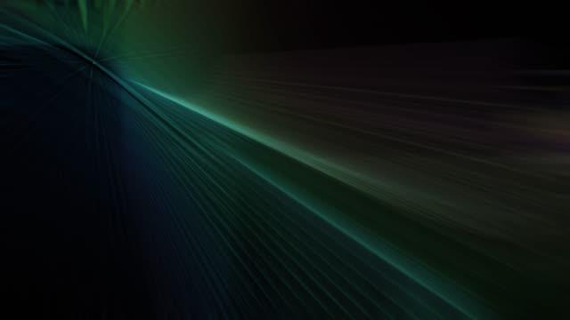 빛의 시뮬레이션 광선4k 추상적 배경 - 근거리 초점 스톡 비디오 및 b-롤 화면