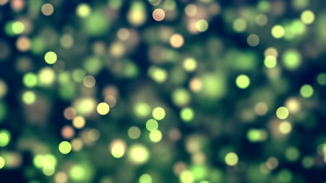 4k abstract bokeh background loop (multi colored) stock video - christmas tree stock-videos und b-roll-filmmaterial