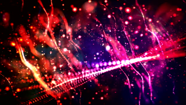 4k abstract christmas background video