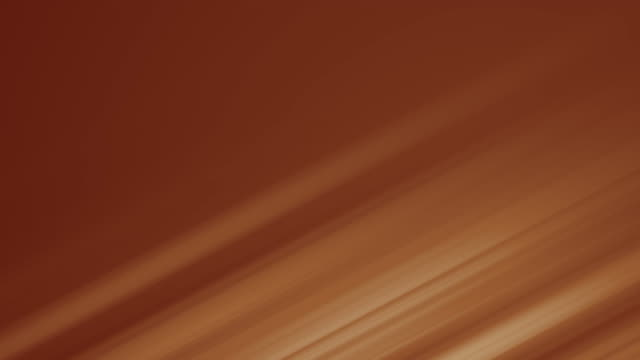 4k Abstract form caramel colored animation background loop stock video