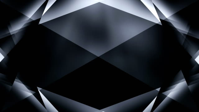4k Abstract Geometry Background Loop (Black) video