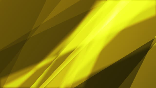 4k Abstract minimal motion geometric yellow gold background
