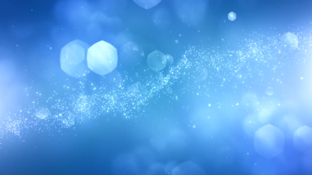 4k Abstract Particles (Light Blue) - Background Animation - Loopable video
